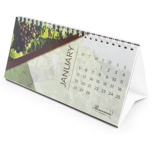 350gsm/150gsm Desktop Flip Calendar Gloss