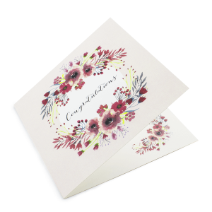 148mm Square Greeting Cards 350gsm Artboard