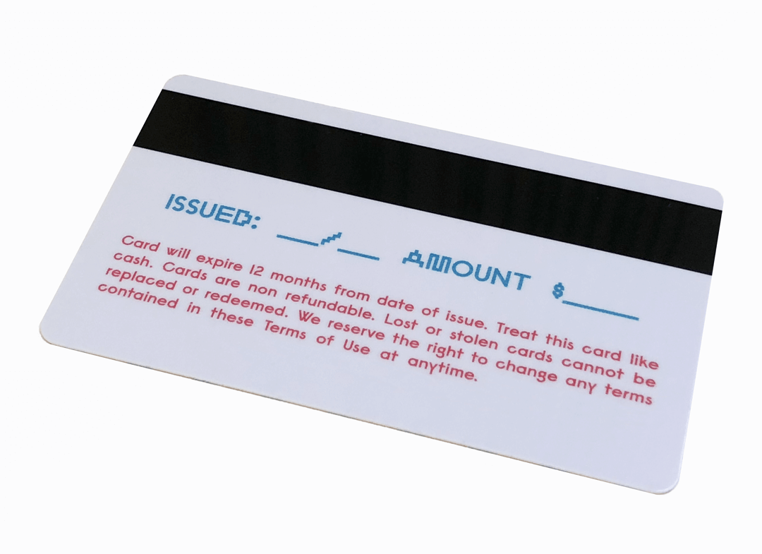 Plastic Card Magnetic Strip