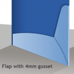 With Gusset Diagram