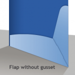 Without Gusset Diagram