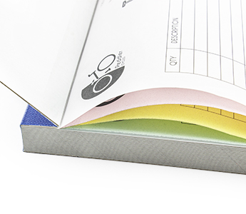 Carbonless Books Quadruplicate
