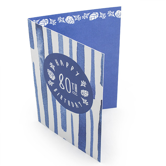 A5 Fold to A6 Greeting Card