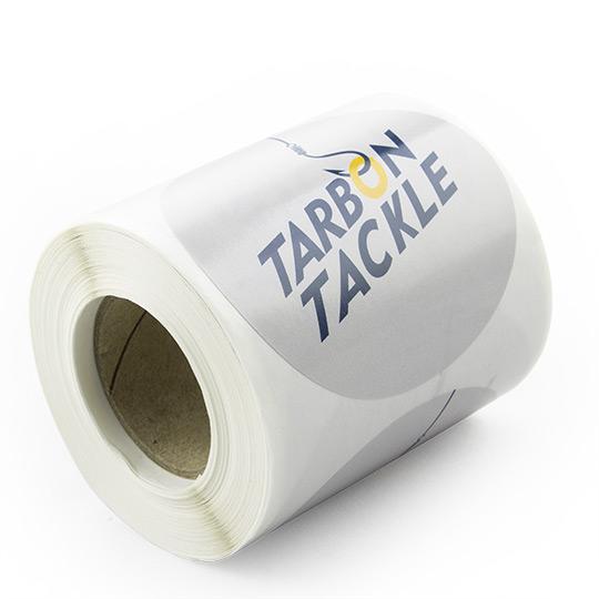 Round Stickers on Rolls