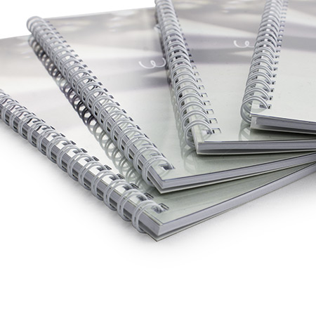 A5 Wire Bound Printed Covers