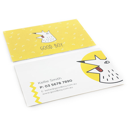 Business Cards 350gsm Matt Lam
