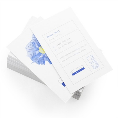 Business Cards 350gsm Uncoated