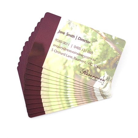 Business Cards 350gsm Round Corners