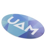 Oval Vinyl Stickers