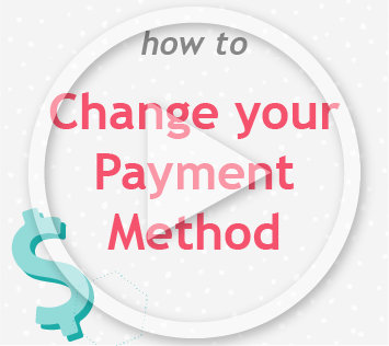 How to change payment method