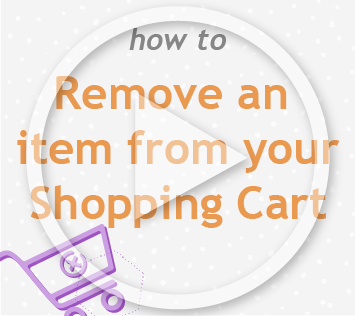 How to remove an item from shopping cart
