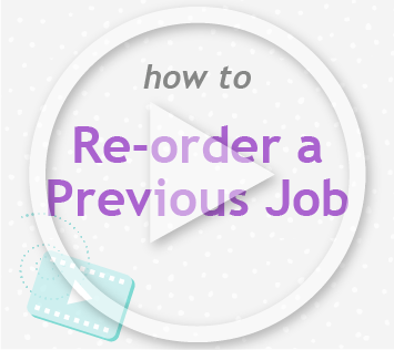 How to reorder a previous job